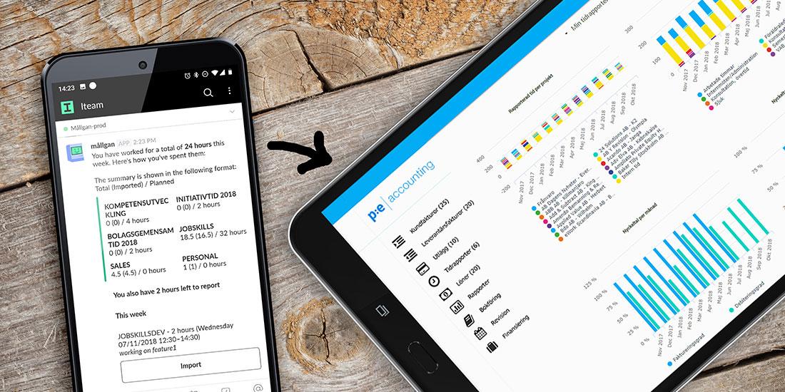 Breakit - Iteams chatbot hjälper anställda tidrapportera och skapar fakturor direkt i ekonomisystemet