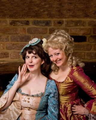 DOT productions She Stoops to Conquer is at Hoveton Hall Gardens
