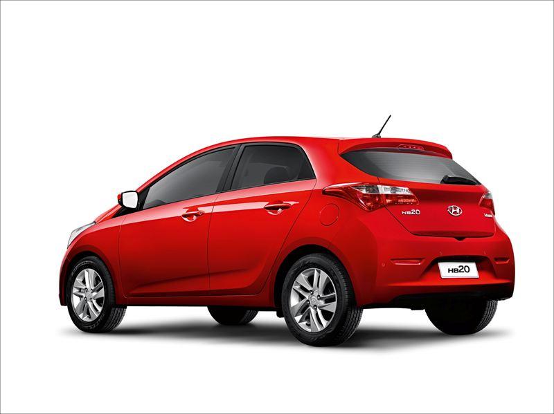 Hb20 2012 Rear Hyundai Motor Company