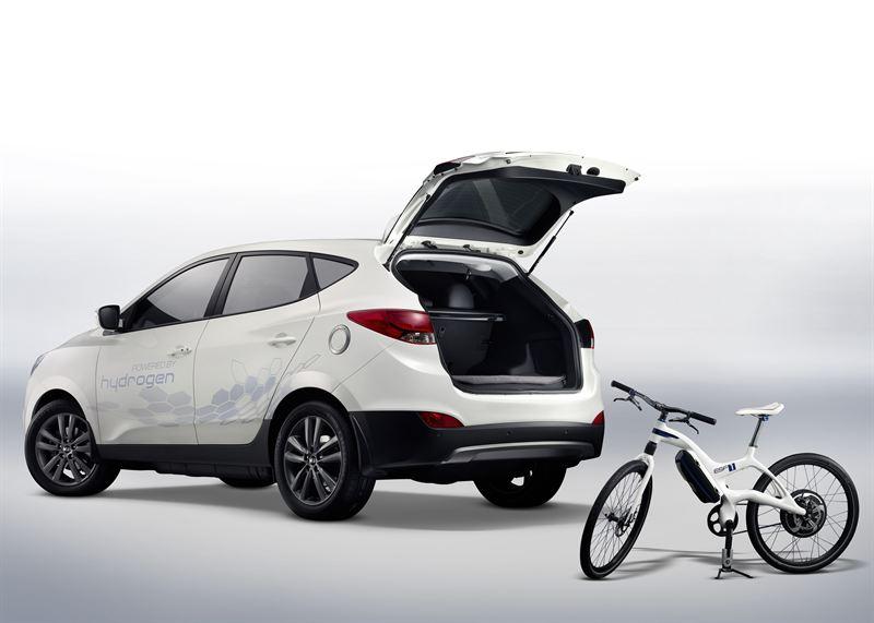 Ix35 Fuel Cell 6 Rear Side Elec Bicycle Hyundai Motor Company