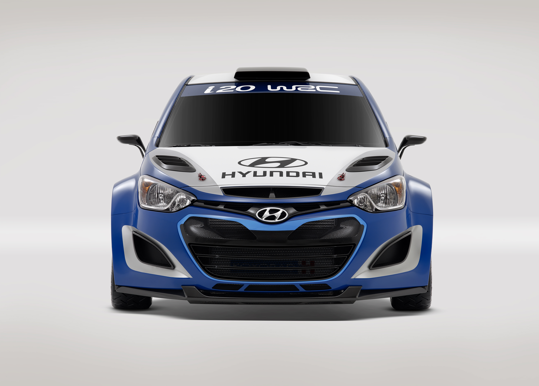 I20 Wrc Front01 Hyundai Motor Company