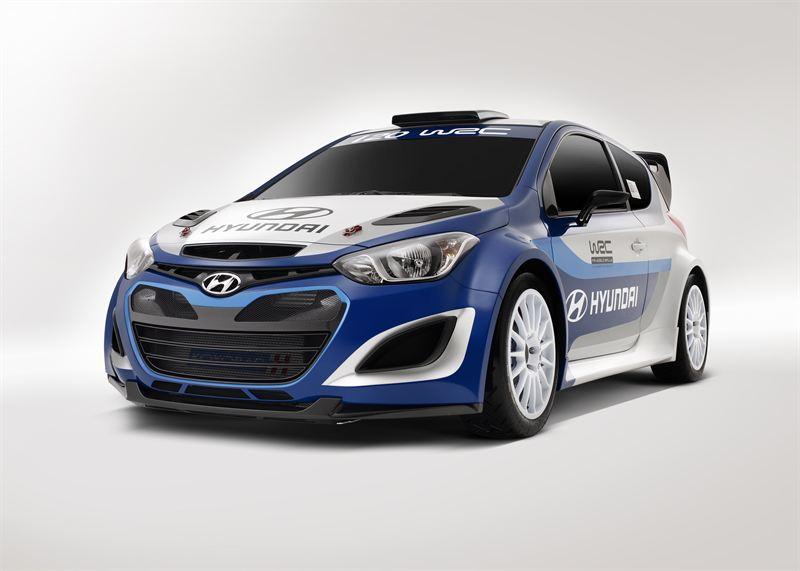 I20 Wrc Front05 Hyundai Motor Company
