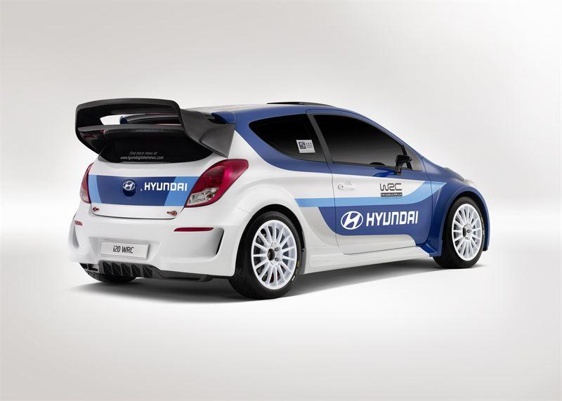 I20 wrc rear02 hyundai motor company for Hyundai motor company usa