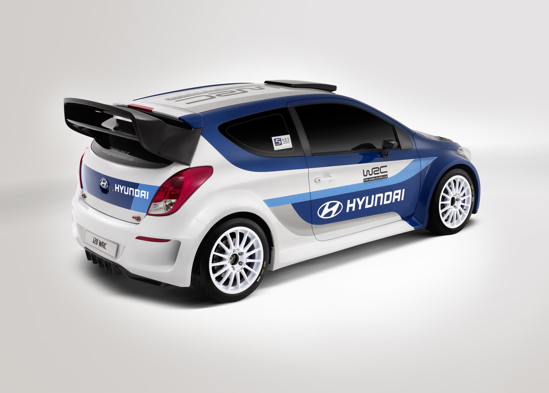 I20 Wrc Rear03 Hyundai Motor Company