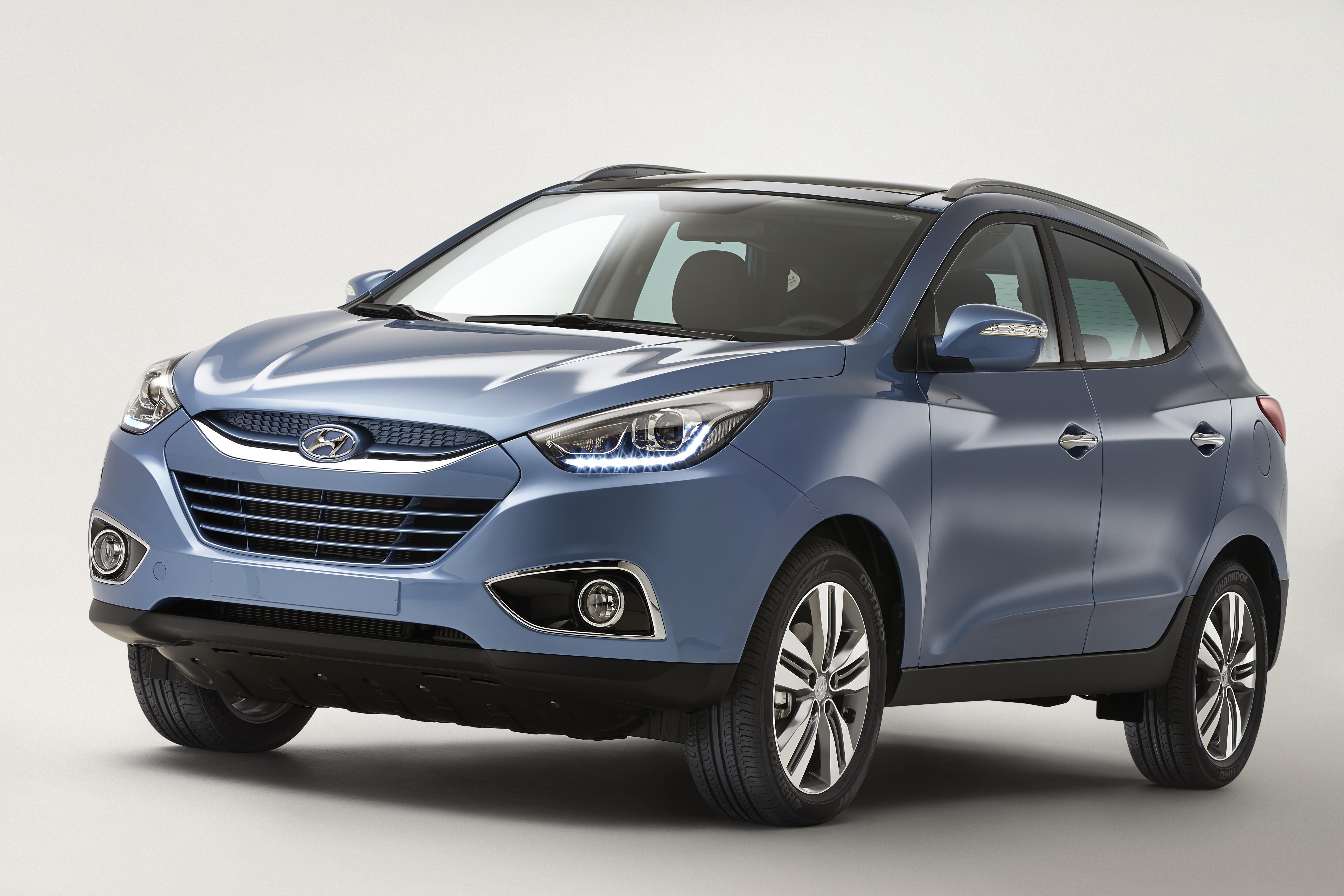 Ix35 3 4 Seite Hyundai Motor Company