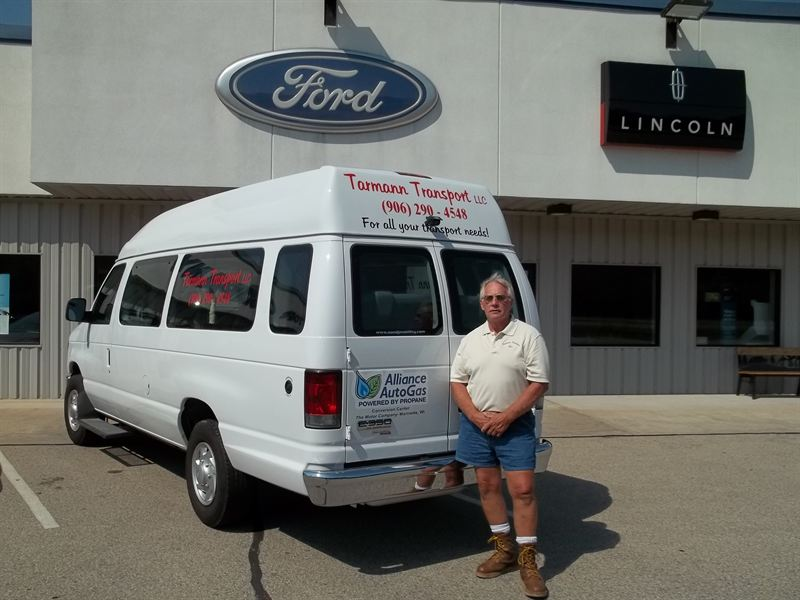 Wisconsin small business owner invests in clean propane for The motor company marinette