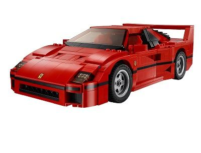 The Iconic Ferrari F40 Is Now Available From Lego In Perfect