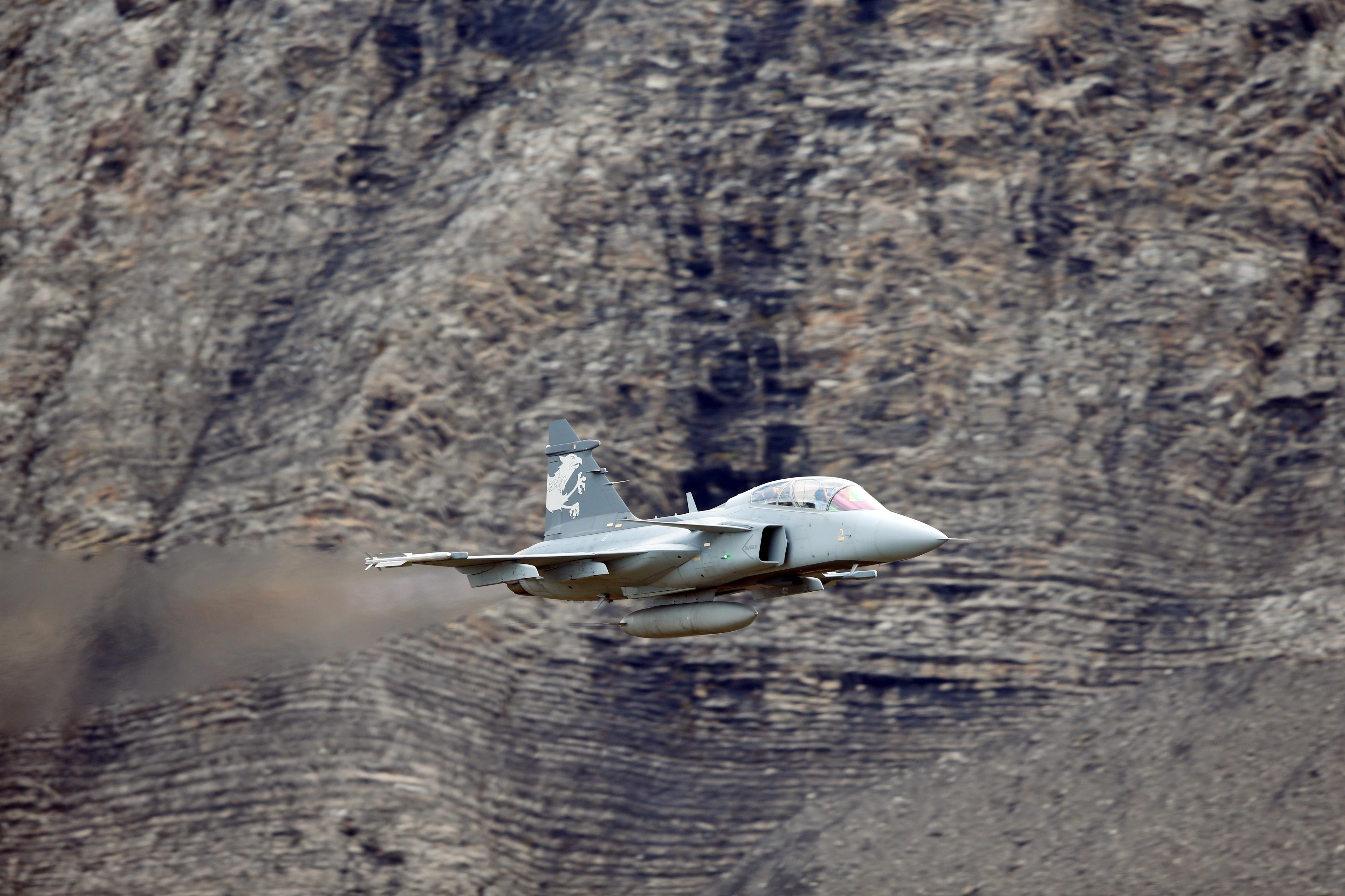 Gripen E/F Test Aircraft Debutes in Switzerland