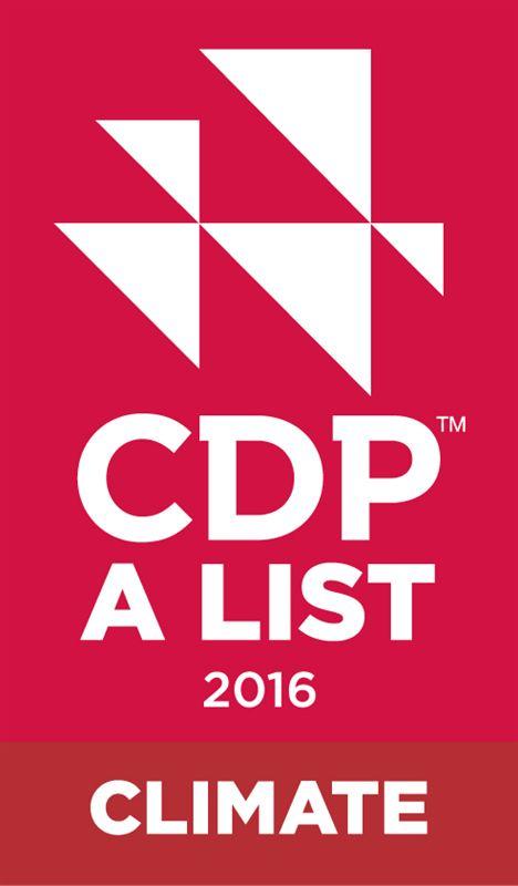 CDP A LIST CLIMATE 2016