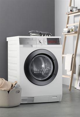 weltneuheit von electrolux erster waschtrockner mit w rmepumpe electrolux. Black Bedroom Furniture Sets. Home Design Ideas