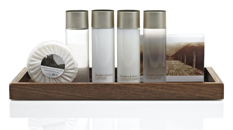 """Bathroom Supplies Melbourne >> New Zealand's Linden Leaves toiletries put the """"well"""" in Welcome for hotel guests - CONCEPT"""