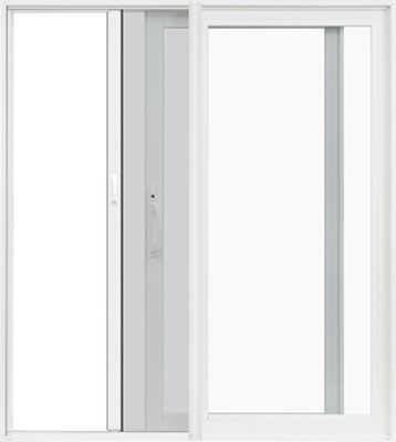Pella Premium Vinyl Sliding Patio Doors Now With Rolscreen