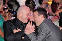 Ross Kemp and Bradley Walsh