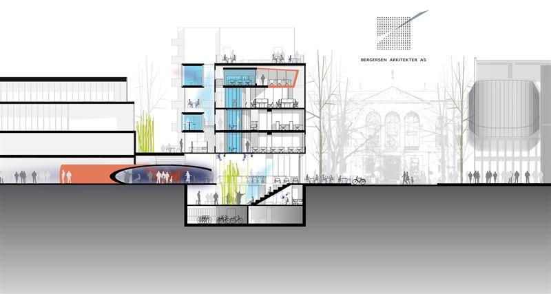 Illustrasjon: Bergersen Arkitekter