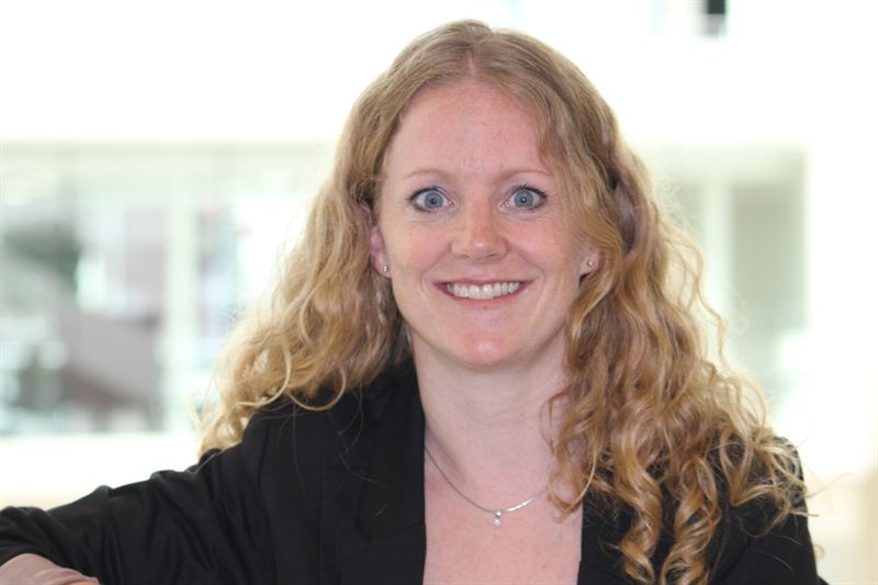 NCC Construction Norway har ansatt Heather Bergsland som bærekraftsjef. Foto: NCC/Jesper Damon Stokke