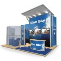 Simple Exhibition Stand Years : Exhibition stand event display inspiration unibox