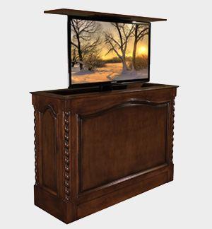 High Tech Tv Lift Furniture Boasts Home Cinema