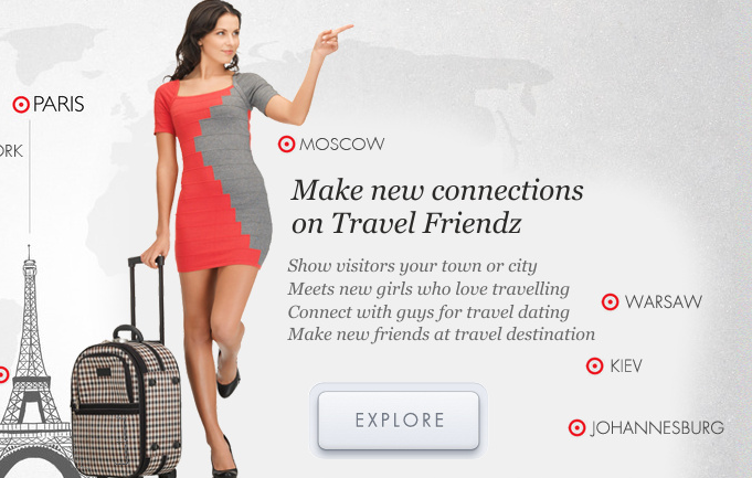 Travel dating network