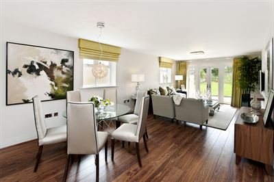 The stunning interior of the showhome at Elizabeth Place by Shanly