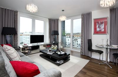 The new showhome at Victory Pier in Gillingham by Berkeley Telephone 01634 565000