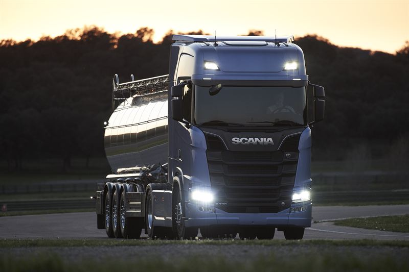 the new scania truck generation scania. Black Bedroom Furniture Sets. Home Design Ideas