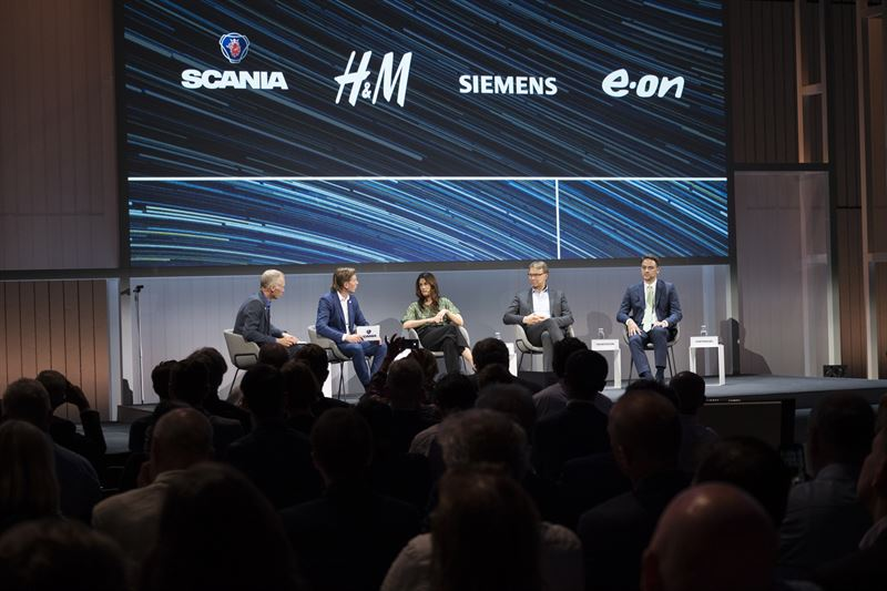 E.ON, H&M group, Scania and Siemens form a coalition to accelerate decarbonisation of heavy transport