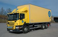 Scania distribution truck