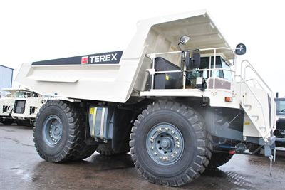 Terex TR60 rigid dump truck