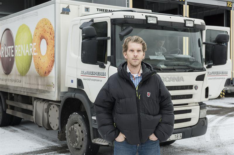 Robert Barkensjö, CEO Kyl- och Frysexpressen