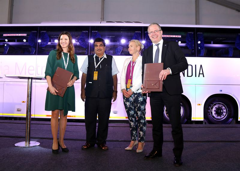 Scania and Swedfund invest in Indian biogas