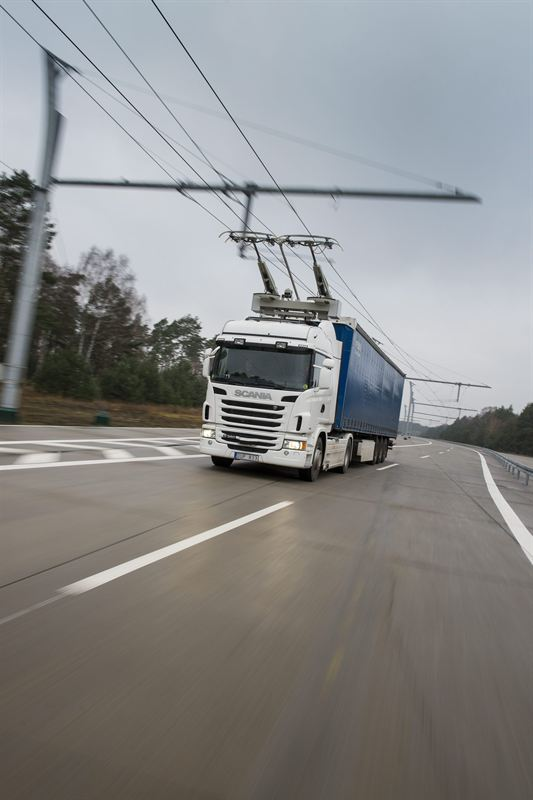 Scania will start trials on electrical