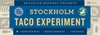 The Stockholm Taco Experiment logo