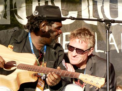HebCelt Frank Yamma with David Bridie