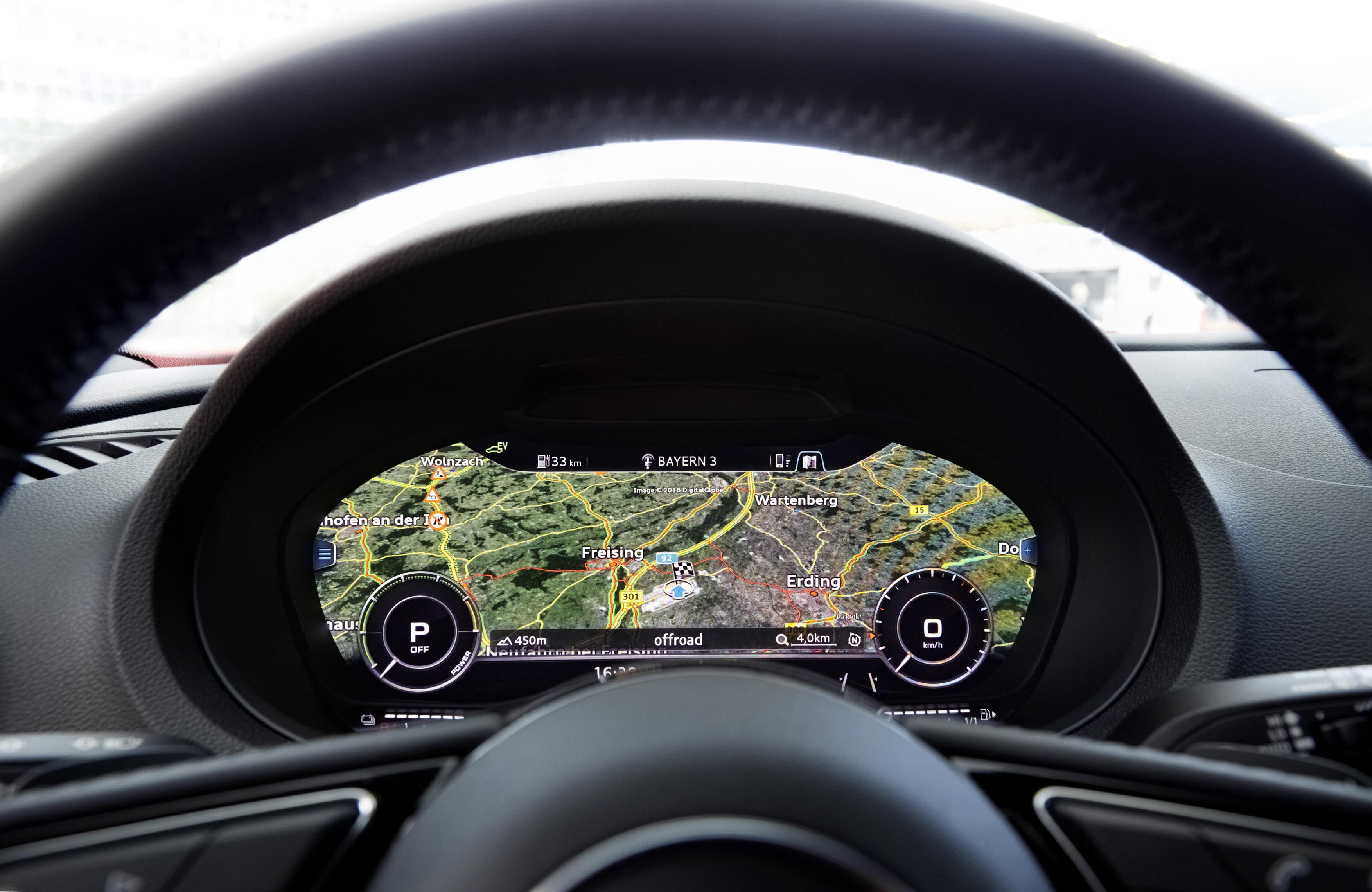 audi virtual cockpit google earth audi a3 e tron audi. Black Bedroom Furniture Sets. Home Design Ideas