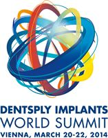 Logo DENTSPLY Implants World Summit 2014
