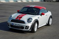 Pictured is the MINI Coupe 1