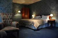A guest room at The Old Palace in Lincoln where Davina McCall stayed whilst filming the second series of Long Lost Family