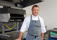 Pictured is Paul Newton, the new Head Chef at The Old Palace.