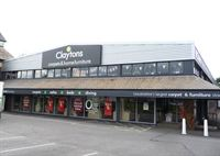 Pictured is the newly-branded Claytons store, which has been given a facelift by the award-winning Allen Signs.