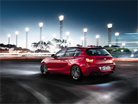 Pictured is the BMW 1 Series F20 1, a model available during the used car offer