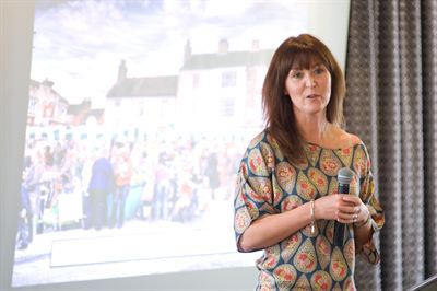Sara Scott from Market Rasen BIG spoke at the Greater Lincolnshire LEP summit on progress of the town's Portas Pilot project so far.