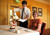 During the festive season winter afternoon tea will be served at The Old Palace
