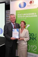 Pictured is the 2012 winner of Lincolnshire Co-operative's People's Choice Award, Pipers Crisps