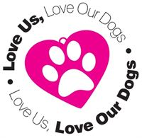 Love Us, Love Our Dogs logo