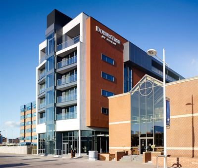 Pictured is the DoubleTree by Hilton Hotel Lincoln where the Select Lincolnshire Food and Drink Awards are being held on 7th Feburary.