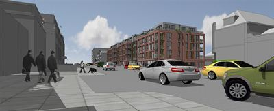 Work has started on a 7m affordable housing development on High Road in Finchley