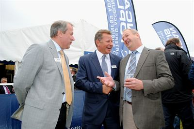 The Duncan &amp; Toplis stand at Cereals 2012 was extremely busy