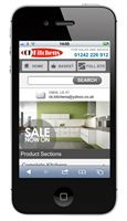 ckkitchens mobile site
