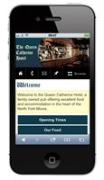 The Queen Catherine Hotel Mobile Site