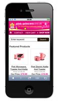 Pink Princess Mobile Website